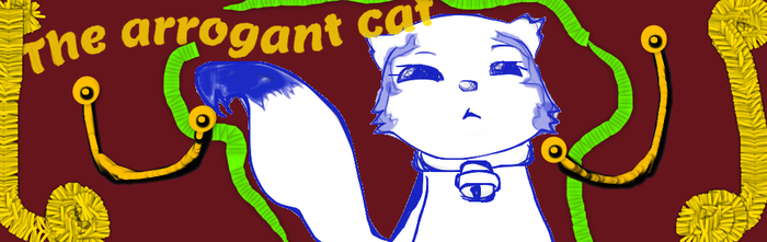 tha arrogant cat by LittleHeartTalks
