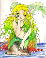 Prismacolor Mermaid by yanagi-san