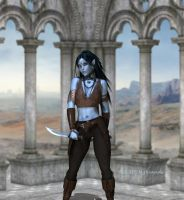 ..::WIP Elf Rogue::.. by Nythande