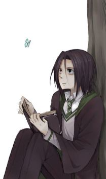 Young Snape by MachoMachi