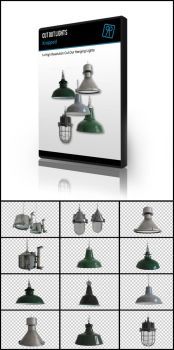 14 Cut out hanging ceiling lights by kropped