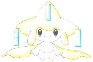 Jirachi-old pic but very good by DisJunctioneD