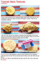 Polymer Clay : Basic Textures Tutorial by CraftCandies