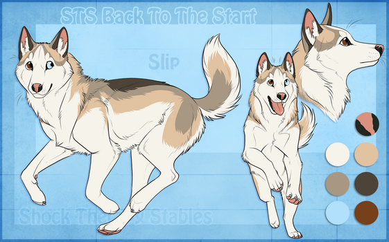 STS Dog - Slip by ShockTherapyStables