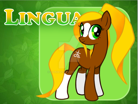 MLP OC : Lingua by conikus