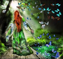 DreamyWoodsButterfly by AngelWingsdesign