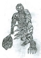 Creature by 666mephistopheles