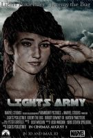 Lights Army Poster by Corfield