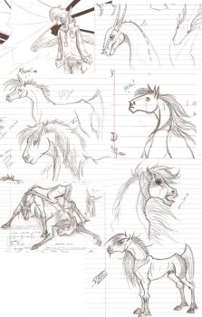 School Sketches - Broses Ed. by Falina