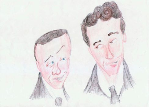 Frank Sinatra and Dean Martin by Deanacool11