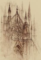 Cathedral by GrimDreamArt
