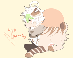 peachy keen by ufoprnc