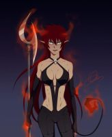 : Ao no Exorcist OC: Ayashi : by Lala-Mot