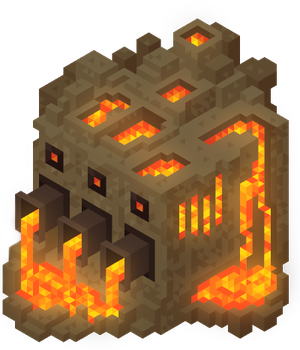 Fire Cube by claireone
