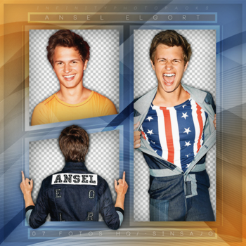 +Ansel Elgort photopack png by ForeverTribute