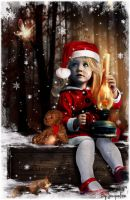 Little Xmas angel by JacquelineLecocq