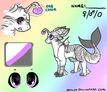 Free adopt #1: Tiger (claimed) by Zoupp