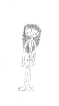 Nameless Character I made by jefdrowned