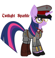 Frau Oberst Twilight Sparkle by fORCEMATION