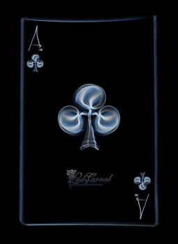 Ace of clubs by LadyCarnal