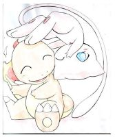 Mew and Charmy