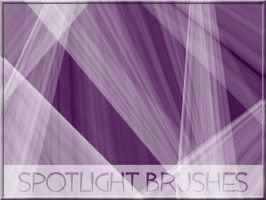 Spotlight Brushes by arca-stock