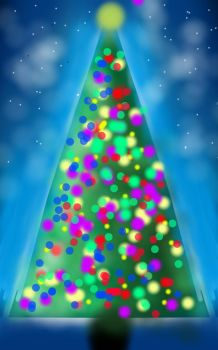 Sketch a Christmas Tree by droanaya