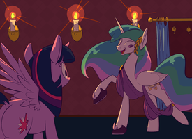 02-27-14 Playing Dressup by goattrain