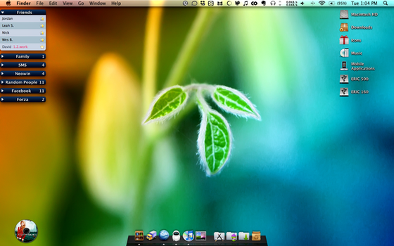 My Desktop 12-30-2008 by EricJD