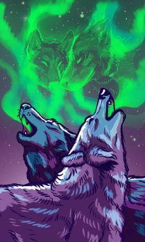Two of Crystals Tarot Card by ZackLoup