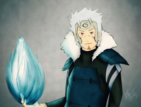 Tobirama Senju by AneRainey