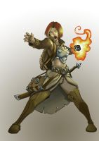 Firemage by Rhosk