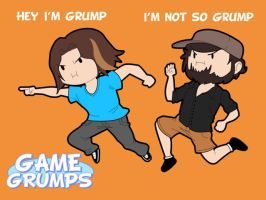 The Game Grumps by CMartworkXL