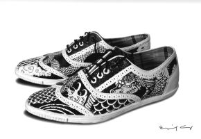 Shoes - tattoo by surfender