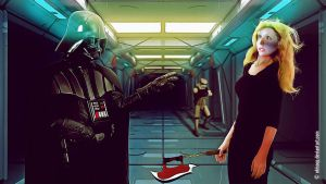 Darth Vader VS Buffy by okissop