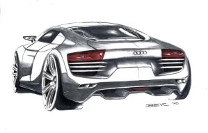 Audi R8 2011 Concept by Straxer
