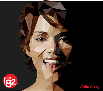 Halle Berry Triangulation Vector by rascalous