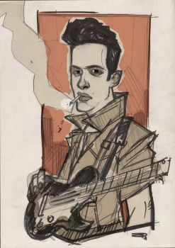 Joe Strummer by DenisM79