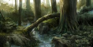 Forest 1 by sleepy91