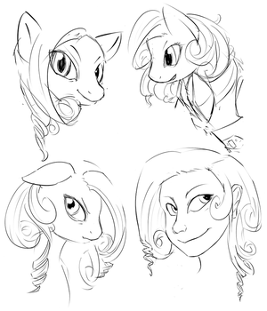 Annabelle Doodles by welcometodai