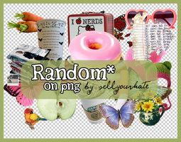PNG's: Random II by sellyourhate