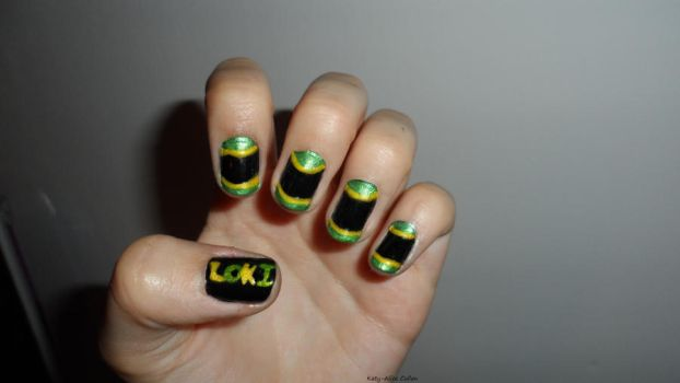 Loki Nails by Cooldawg