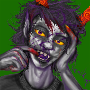 :Homestuck: Gamzee by Pancake-fairy