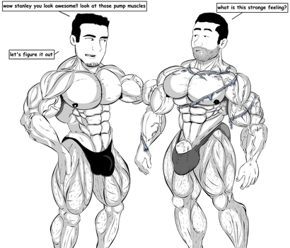 Amigos Muscle Growth 2 by Salvador503