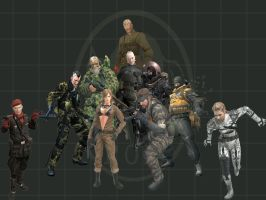 Metal Gear Solid 3 by sonic5688
