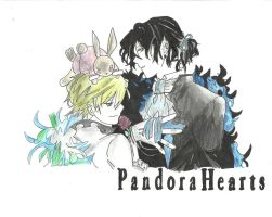 Pandora hearts (I got bored) by YniaEkers