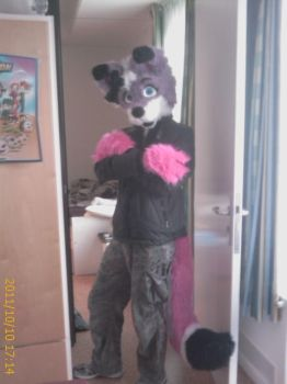 in my fursuit 1 XD by knight-rider-2000