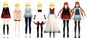 outfits so far (wip/uncompleted) by iixv