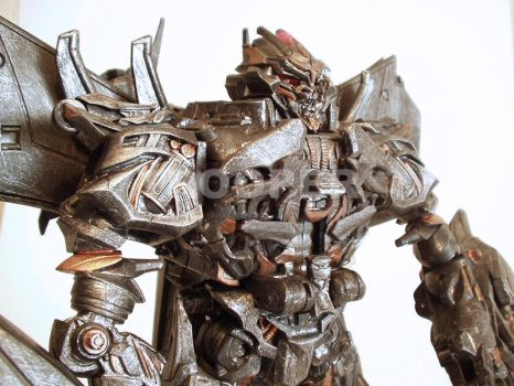 Custom painted Megatron Movie by Cortes2k