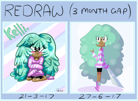 Kelly Redraw Comparison by tctwig